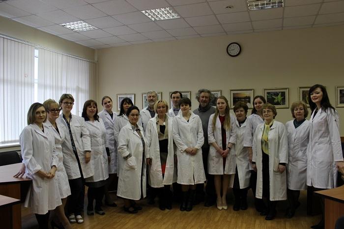 лаборатория экологической биохимии