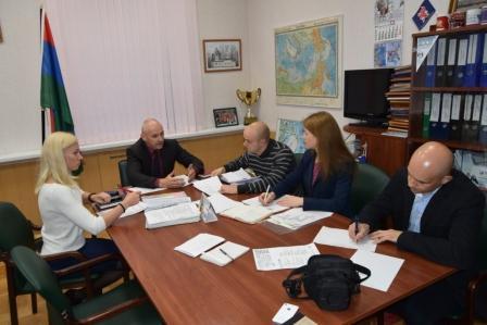 заседание организационного комитета по подготовке и проведению VII Молодежного экономического форума