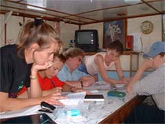 Сотрудники Института в экспедиции – 2000г.