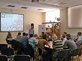Встреча с преподавателями и студентами географического факультета МГУ им. М.В. Ломоносова