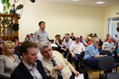 Участники круглого стола &quotПерспективы создания индустриальных парков в Республике Карелия&quot