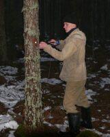 аспирант лаб. лесовосстановления А.Н.Пеккоев