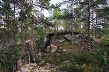 Бывшие военные укрепления на м. Габуковский