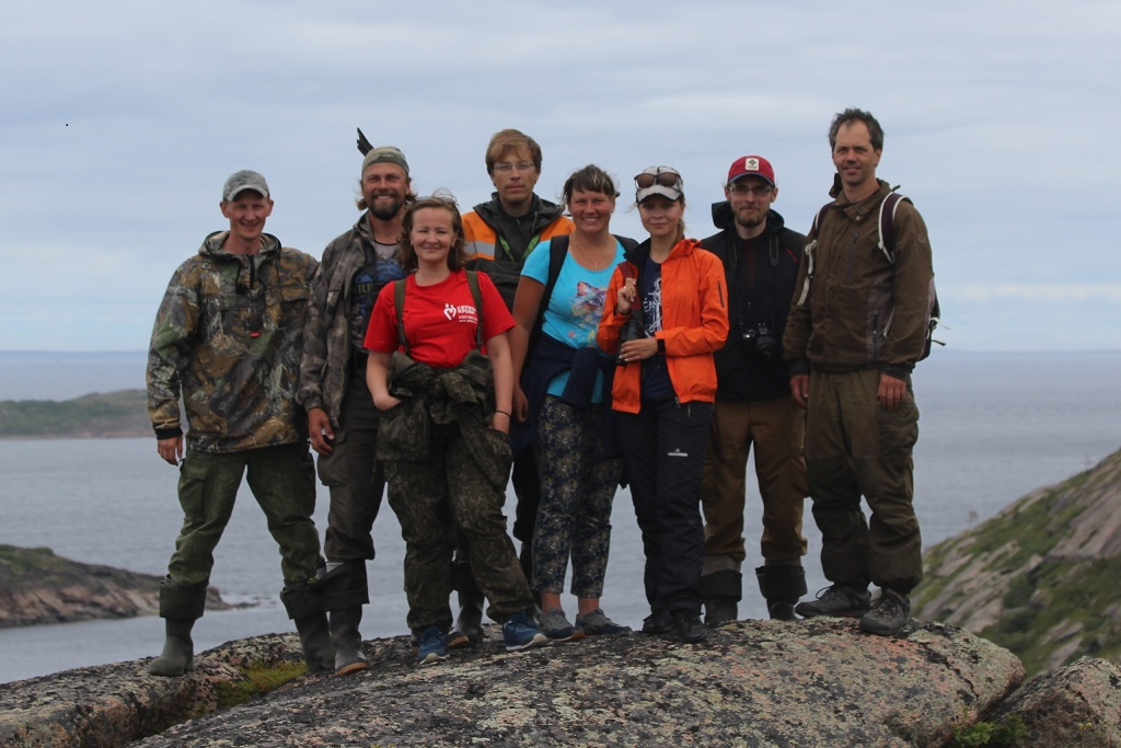 Научно-исследовательская группа экспедиции 2020