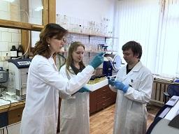 Научный коллектив лаборатории экологической биохимии ИБ КарНЦ РАН