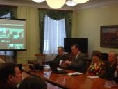 Аудитория интернет-конференции в Национальном музее РК