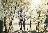 Март в Кижах