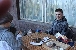 Егор Лангуев - главнй специалист по минералам
