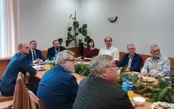Встреча с представителями Комитета Санкт-Петербурга по делам Арктики А.Л. Анпилоговым и С.С. Николаевым