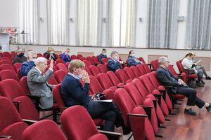 Участники заседания Ученого совета КарНЦ РАН