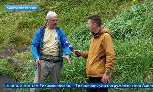 "Кадр сюжета на &quotПервом канале"""