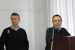 Айво Лепланд (слева) и Павел Медведев