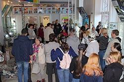 Аншлаг в Музее геологии