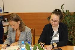 Встреча с представителями секретариата Совета Министров Северных стран