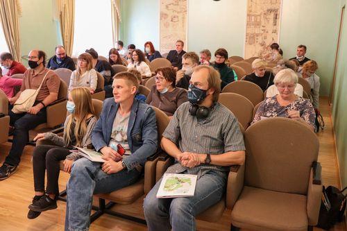 Лекторы и участники Дня Европейского зеленого пояса