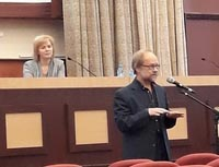 Выступление директора Института прикладных математических исследований КарНЦ РАН Владимира Мазалова