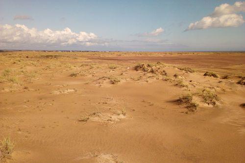 Кузоменьские пески называют пустыней в Арктике