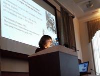 Младший научный сотрудник Института языка, литературы и истории, к.ф.н. Екатерина Захарова