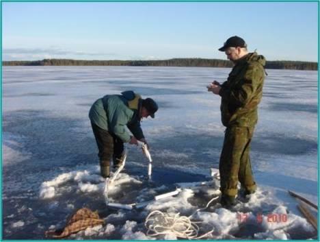 Гидрологические исследования на Вендюрском озере