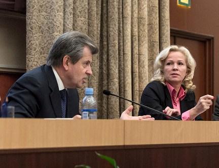 Сергей Вахруков и Ирина Макиева (Фото Игоря Георгиевского)