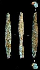 Артефакты – фрагменты медных изделий – из «мастерской» «Фофаново XIII»