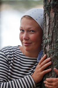 Молодой археолог аспирант Татьяна Хорошун