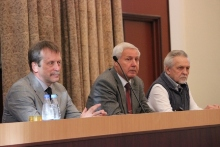 Открытие семинара Субетто Д.А.,Титов А.Ф., Щипцов В.В.