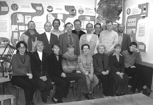 Сотрудники лабораторий гидрофизики, географии и гидрологии