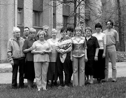 Сотрудники лаборатории гидробиологии