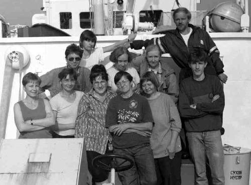 Фото 6. Комплексная экспедиция на НИС «Посейдон»