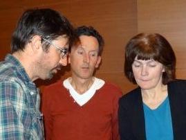Междисциплинарные вопросы - Дэмьен Буффард (гидрофизик), Бастиан Ибелинг (фитопланктонолог), Наталья Калинкина (фитопланктонолог)