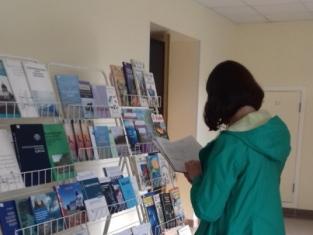 Выставка книг библиотеки ПетрГУ.