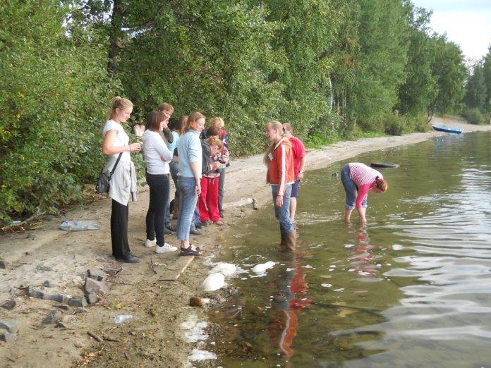 Отбор гидрологических проб