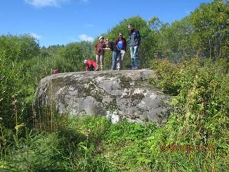 Геологический памятник «Утюг» (Вологодская область)